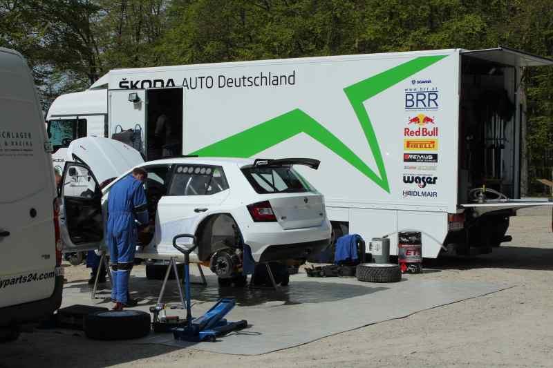 Kremer testete erstmals Skoda Fabia R5