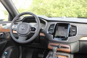 Volvo XC90 Cockpit; Foto: P. Bohne