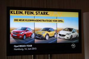 Opel werbung, Foto: P. Bohne