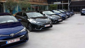 Pressepräsentation Toyota Avensis; Foto: P. Bohne