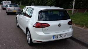 VW Golf TSI BlueMotion; Foto: P. Bohne