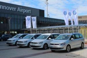 Pressepräsentation VW Sharan; Foto: P. Bohne