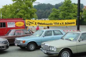 Oldtimertreffen Schwerin, Bertha-Klingbiel-Platz. Foto: P. Bohne