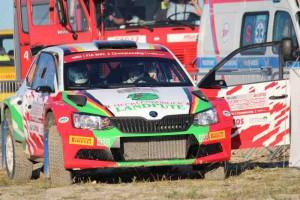 Skoda-Team Armin Kremer/Primin Winklhofer, Skoda Fabia R5; Foto: P. Bohne