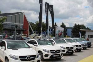 Pressepräsentation der neuen Mercedes-Benz GLE-Modelle. Foto: P. Bohne