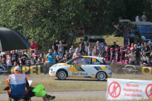 Junior Europameister Emil Bergkvist, Opel Adam R2; Foto: P. Bohne