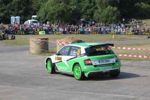 WRC2-Sieger: Jan Kopecky, Skoda Fabia R5; Foto: P. Bohne