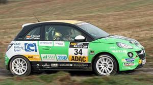 Julius Tannert, Opel Adam. Foto: Opel