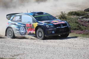 Weltmeister Sebastien Ogier, VW Polo R WRC, Portugal; Foto: P. Bohne