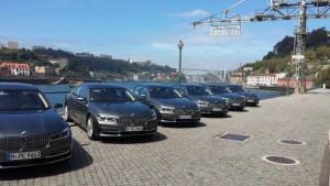 Der neue 7er BMW - Fahrpräsentation Porto. Foto: P. Bohne