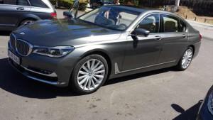 Der neue 7er BMW; Foto: P. Bohne