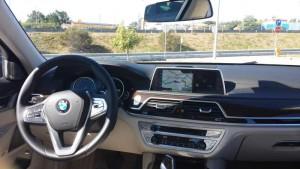Cockpit der neuen 7er BMW-Limousine; Foto: P. Bohne