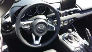 Mazda MX-5, Cockpit; Foto: P. Bohne