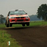 Christ/Krajewski, Mitsubishi Evo 9, Foto: privat/MC