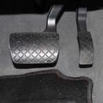 Pedalstellung Audi A4; Foto: P. Bohne