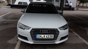 New Audi A4, Herbst 2015; Foto: P. Bohne