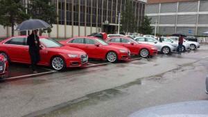 Pressepräsentation des New Audi A4; Foto: P. Bohne