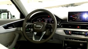 New Audi A4 Cockpit; Foto: P. Bohne
