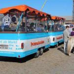 Stadtrundfahrten mit dem Petertmännchen Barkas Bus; Foto: P. Bohne