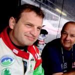 Armin Kremer (li) und Teamchef Raimund Baumschlager; Foto: BRR