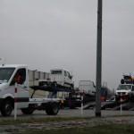 Fahrzeugverladung; Foto: P. Bohne