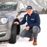 Michelin-Botschafter Armin Schwarz stellt den neuen CrossClimate vor. Foto: Michelin
