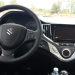 Cockpit des neuen Suzuki Baleno; Foto: P. Bohne