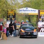 Team Christ/Christ, Start zur 17. ADAC Fontane Rallye in Neuruppin. Foto: P. BohneRa