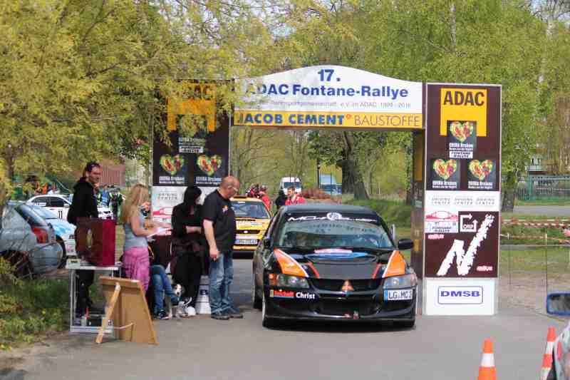 Rallyeteam Christ: Erfolg in Neuruppin