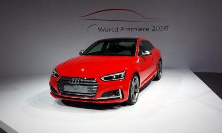 Sportliche Eleganz – Weltpremiere des neuen Audi A5/S5 Coupé
