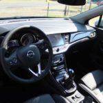 Opel Astra Sports Tourer, Cockpit/Sitze. Foto: P. Bohne