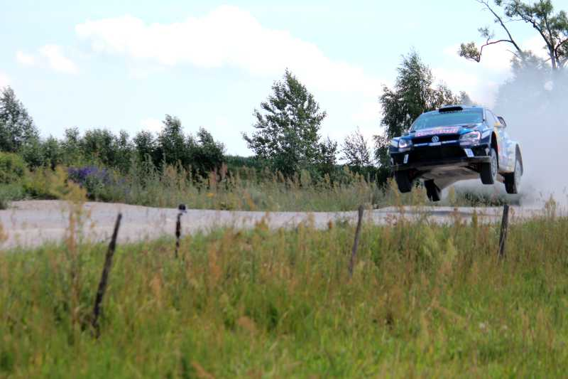 WM-Lauf Rallye  Polen 3. Tag