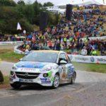 jari Huttunen/Antti Linnaketo, Opel Adam Cup-Sieger 2016; Foto: Opel