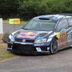 Sieger WM-Lauf Rallye Deutschland: Ogier/Ingrassia, VW Polo R WRC; Foto: P. Bohne