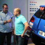 Timo Gottschalk (rechts) im Interview. Foto: P. Bohne