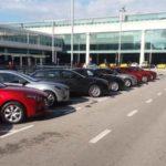 New Mazda3 Pressepräsentation Airport Barcelona. Foto: P. Bohne