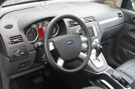 Ford C Max Neues Gesicht Neue Heckleuchten Ein Edlerer Innenraum